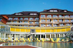 Außenmarkise von Sunhouse Modell Markilux in gelb