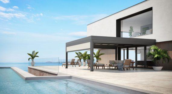 das einzigartige markante Terrassendach Markant Markilux von Sunhouse