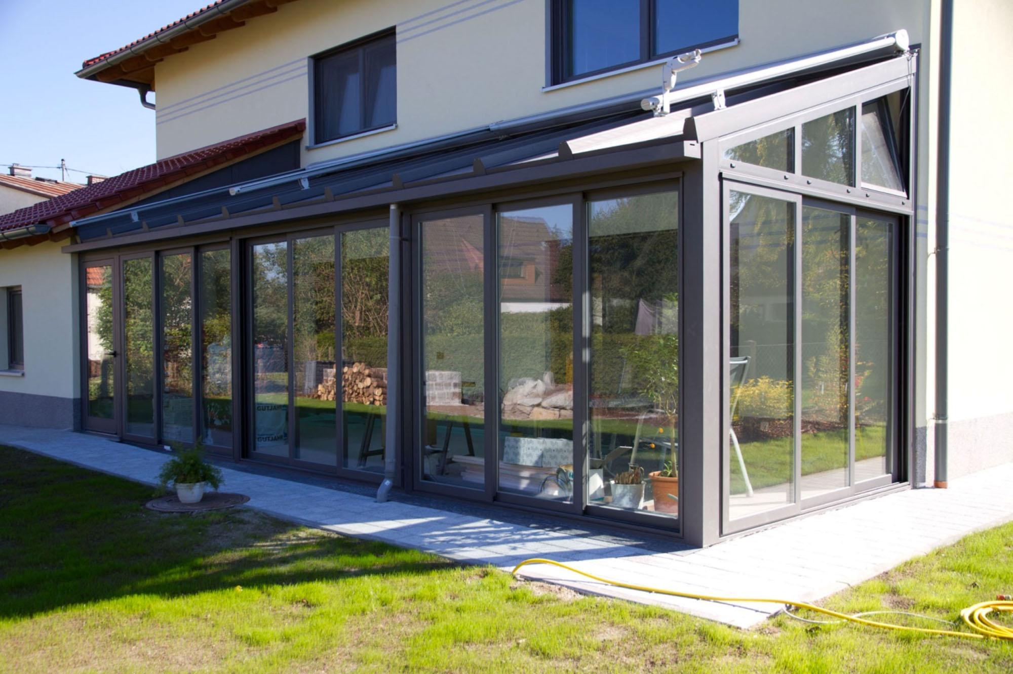 Wintergarten - Classic thermisch getrennter beheizbarer Wintergarten von Sunhouse