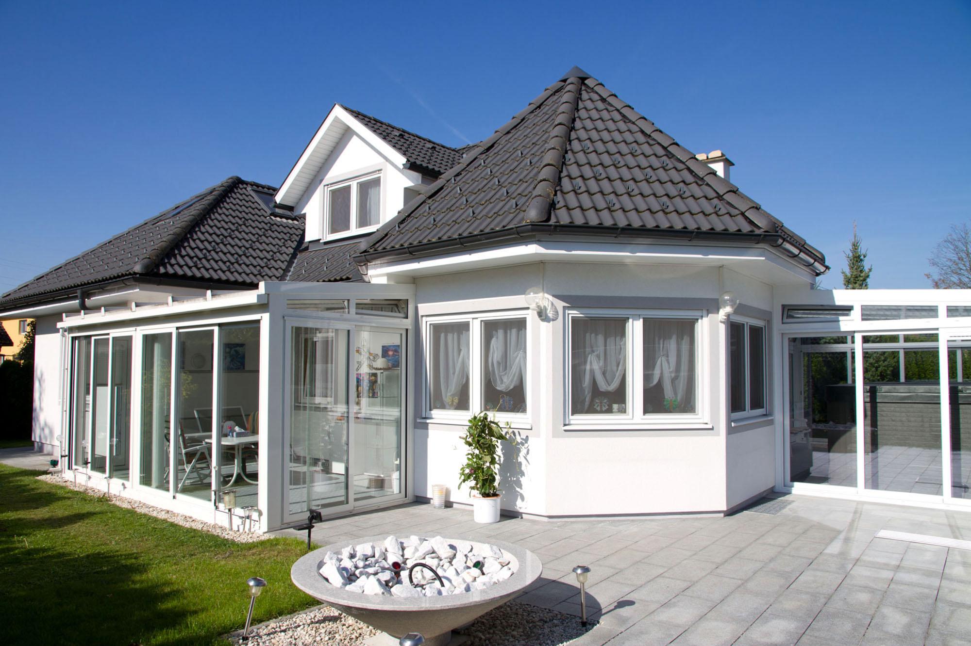 Wohnraumerweiterung durch Wintergarten - Superior