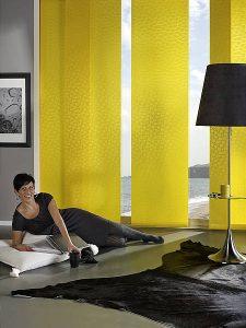 Flächenvorhänge in gelb von Leha bei Sunhouse