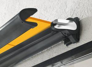 Antrieb Gelenksarmmarkise - freitragend als Detailansicht