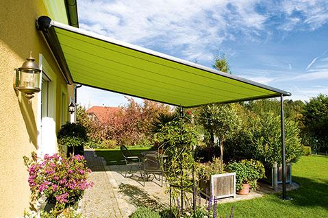 flexible Terrassenüberdachung für die Terrasse von Sunhouse