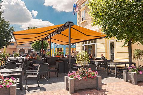 Sunhouse markilux syncra stillvoller Sonnenschutz für große Flächen