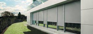 Textilscreen Außenmarkisen zur Beschattung von Sunhouse Wintergärten